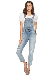 Blank Semi Relaxed Denim Overalls in Get It Together