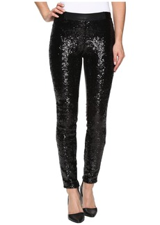 Blank Sequin Pull-On Skinny in Shape Shifter