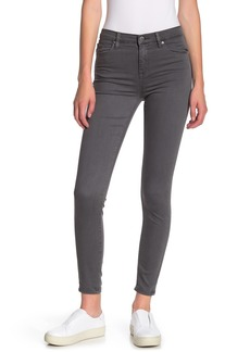 Blank Solid Cropped Skinny Pants