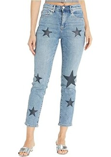 Blank Star Printed Jeans in Ever After