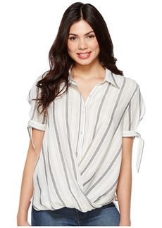 Blank Striped Detailed Shirt in Me and You