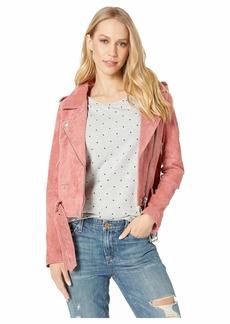 Blank Suede Moto Jacket