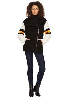 Blank Teddy Bear Jacket in The Fuzz
