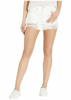 Blank The Barrow High Rise Distressed Shorts in Aspen