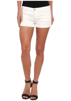 Blank The Basic Cuff Short in White Lines