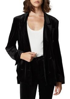 Blank The Grand Dame Velvet Blazer Jacket