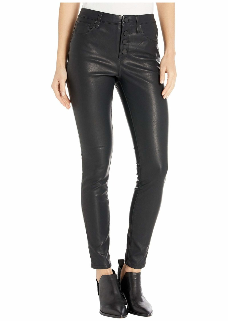 Blank The Great Jones High-Rise Faux Leather Skinny