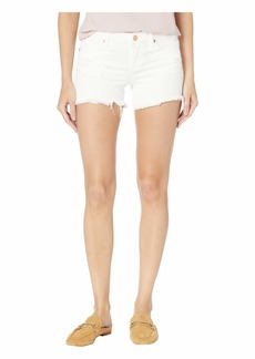 Blank The Lenox Distressed Shorts in Great White