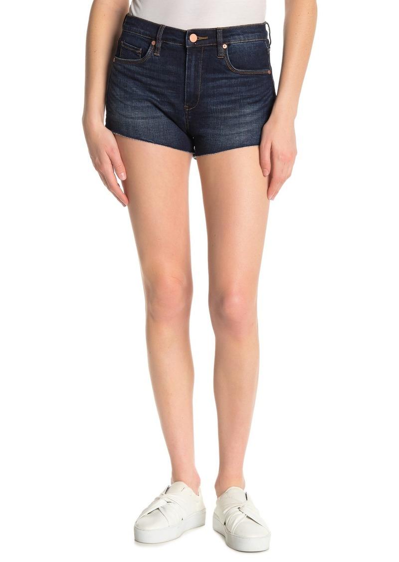 Blank The Lenox High Rise Cut Off Denim Shorts