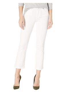 Blank The Varick Cropped White Jeans in Great White
