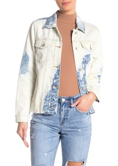 Blank Tie Dye Denim Jacket