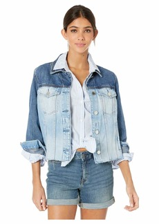 Blank Two-Tone Denim Jacket in Chaser