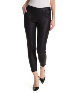 Blank Vegan Leather High Rise Pant