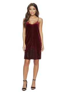 Blank Velvet Dress in Velvet Rope