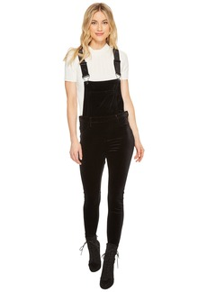 Blank Velvet Overalls in The New Black