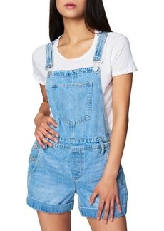 Women's Blanknyc Short Denim Overalls