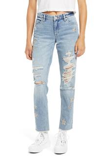 Women's Blanknyc Snake Star Patch Crop Jeans