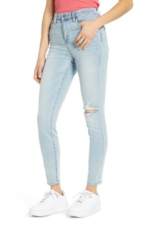 Women's Blanknyc The Great Jones High Waist Ripped Jeans