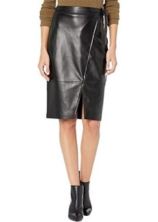 Blank Wrap Skirt w/ Tie Closure