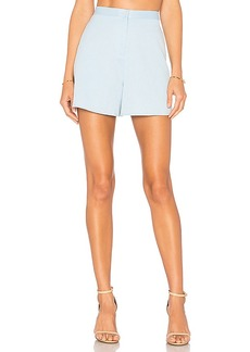 BLAQUE LABEL High Waisted Short in Baby Blue. - size M (also in XS,S)