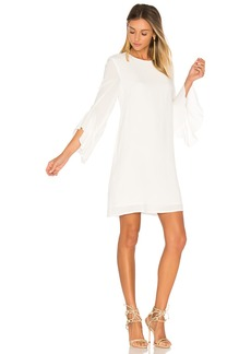 Blaque Label Ruffle Sleeve Dress