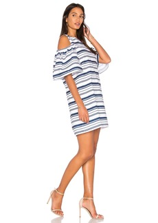 Blaque Label Striped Poplin Dress
