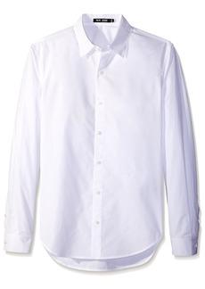 BLK DNM Men's Long Sleeve Button-Up Shirt  S