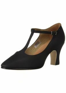 "Bloch Dance Women's Chord T-Bar Strap 3"" Shoe  7.5 Medium US"