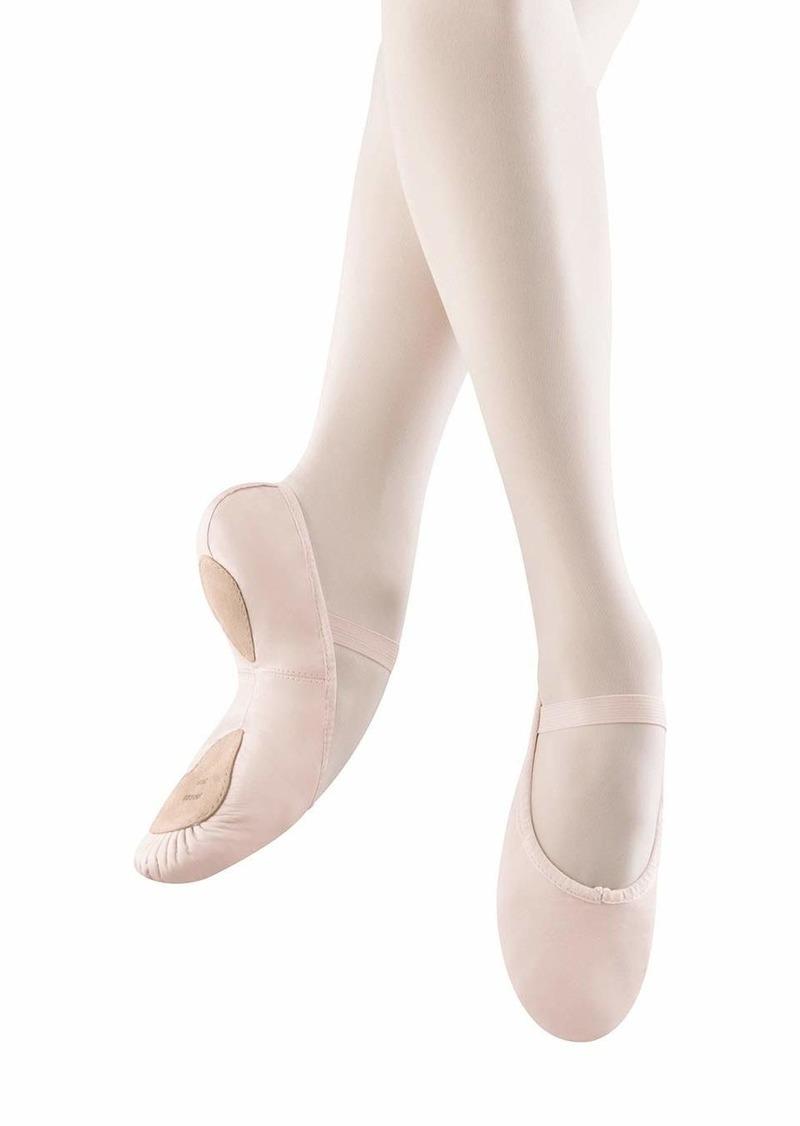 Bloch Dance Women's Dansoft II Leather Split Sole Ballet Shoe/Slipper Dance   M US
