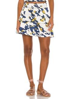 Blue Life Hailee Tiered Mini Skirt