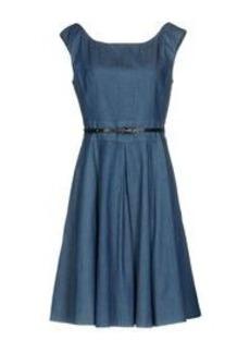 BLUMARINE - Denim dress
