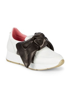 Blumarine Slip-On Bow Sneakers