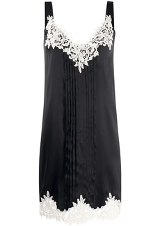 Blumarine crochet shift dress