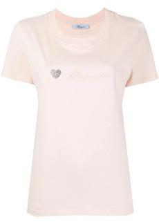 Blumarine embellished heart T-shirt