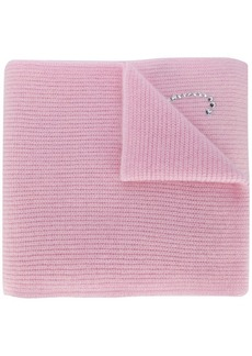 Blumarine embellished scarf
