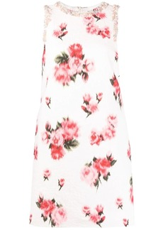 Blumarine flora-print shift dress