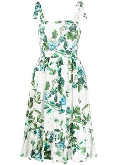 Blumarine floral midi dress