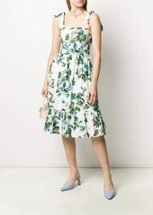 Blumarine floral midi dress