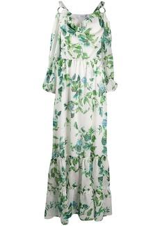 Blumarine floral-print long dress