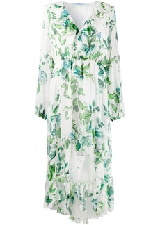 Blumarine floral-print ruffled dress