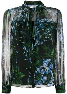 Blumarine floral print shirt