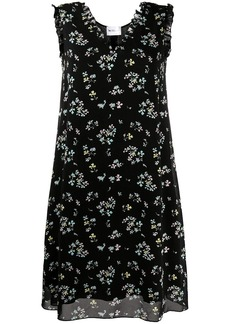 Blumarine floral-print sleeveless dress