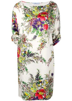 Blumarine floral shift dress