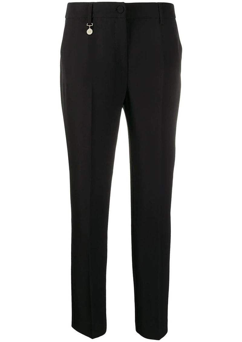 Blumarine high-rise cropped trousers