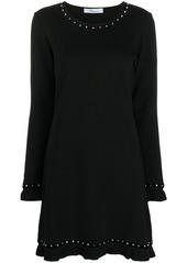 Blumarine knitted mini dress