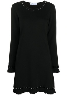 Blumarine knitted mini dress