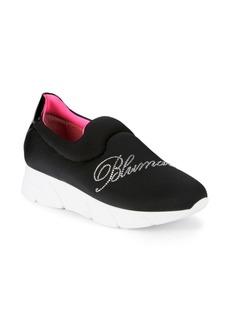 Blumarine Logo Embellished Sneakers