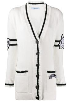 Blumarine mid-length cardigan