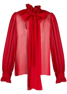 Blumarine pussybow blouse
