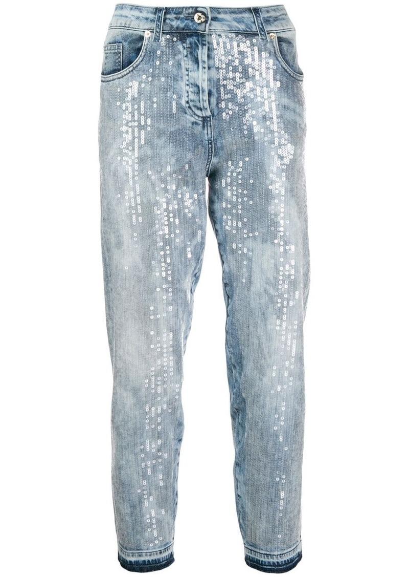 Blumarine sequin jeans